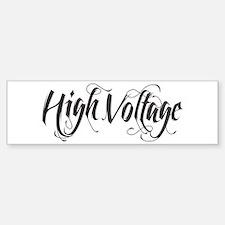 High Voltage Sticker (Bumper)