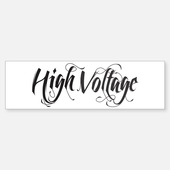 High Voltage Sticker (Bumper)