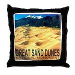 Great Sand Dunes National Mon Throw Pillow