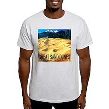 Great Sand Dunes National Mon Ash Grey T-Shirt
