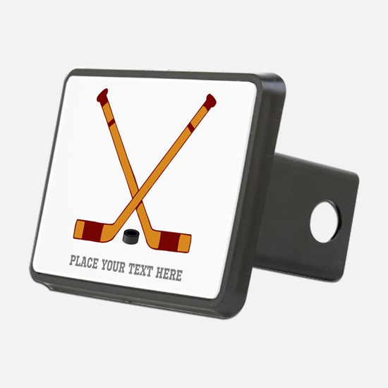 Ice Hockey Customized Hitch Cover