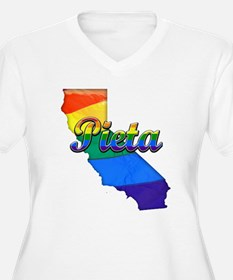 Pieta, California. Gay Pride T-Shirt