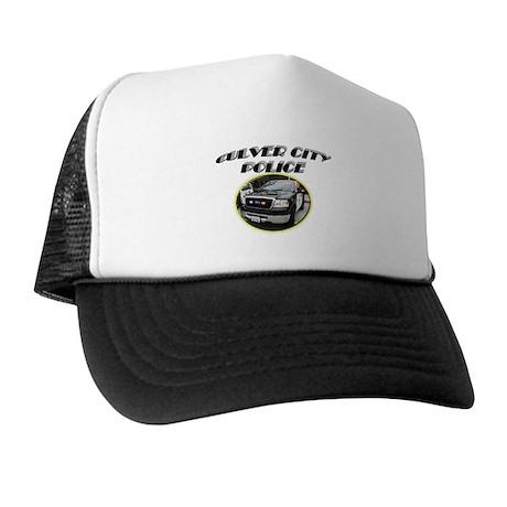 Culver City Police Truck Trucker Hat
