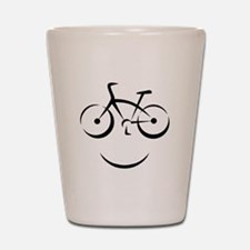 Bike Smile Shot Glass