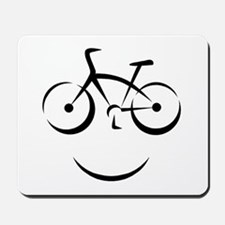 Bike Smile Mousepad
