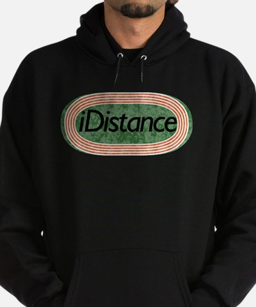 i distance track and field Hoodie (dark)