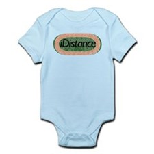 i distance track and field Infant Bodysuit