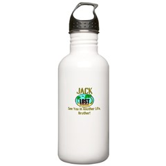 Lost Jack Quote Water Bottle