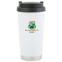 Lost Jack Quote Stainless Steel Travel Mug