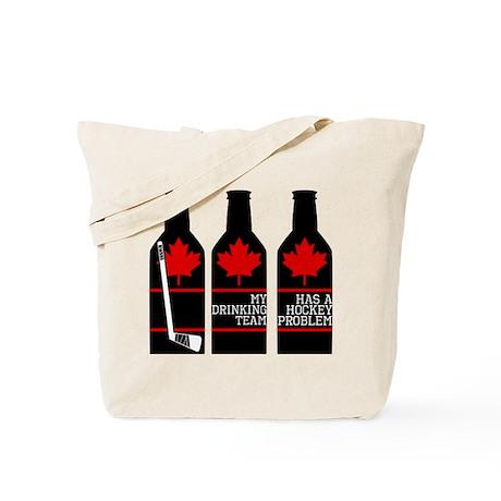 Hockey Problem Tote Bag