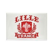 Lille France Rectangle Magnet