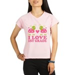 I Love 1st Grade Gift Performance Dry T-Shirt