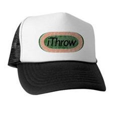 i Throw Track and Field Trucker Hat