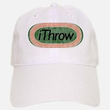 i Throw Track and Field Baseball Baseball Cap