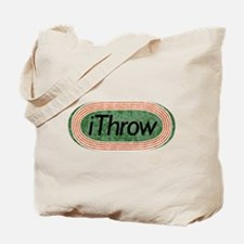 i Throw Track and Field Tote Bag