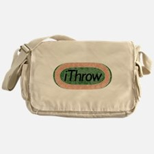 i Throw Track and Field Messenger Bag