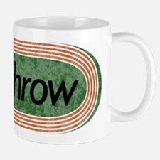 i Throw Track and Field Small Small Mug