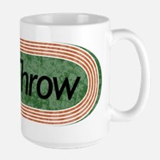 i Throw Track and Field Large Mug