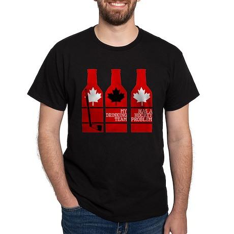 Hockey Problem Dark T-Shirt