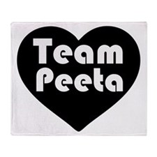 Team Peeta Throw Blanket