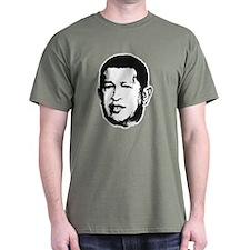 Hugo Chavez Black T-Shirt