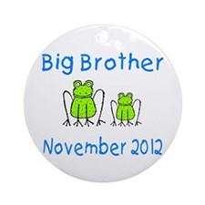 Big Brother Frogs 1112 Ornament (Round)