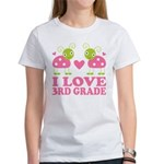 I Love 3rd Grade Gift Women's T-Shirt