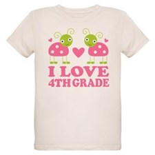 I Love 4th Grade Gift T-Shirt