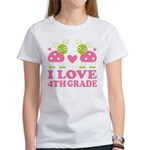 I Love 4th Grade Gift Women's T-Shirt