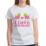 I Love 5th Grade Gift Women's T-Shirt