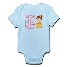 Funny Little Sister Princess Infant Bodysuit