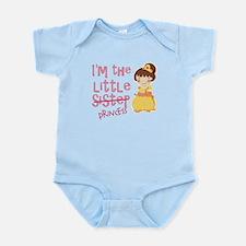 Funny Little Sister Princess Infant Bodysuit