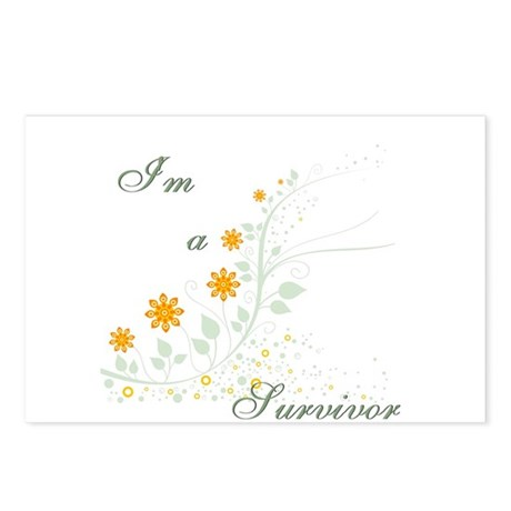 I'm a Survivor Postcards (Package of 8)
