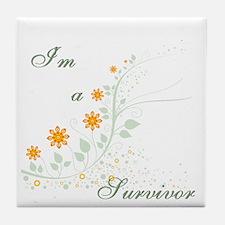 I'm a Survivor Tile Coaster