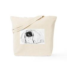 Pekingese in Profile Tote Bag