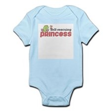 Self Rescuing Princess Infant Bodysuit
