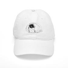 Pekingese in Profile Baseball Cap