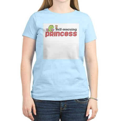 Self Rescuing Princess Women's Light T-Shirt