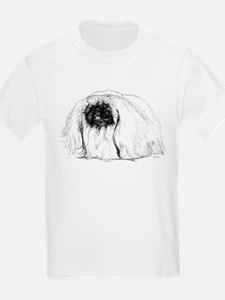 Pekingese in Profile Kids T-Shirt