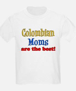 Colombian Moms Are Best T-Shirt