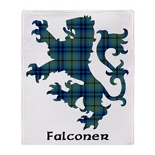 Lion - Falconer Throw Blanket