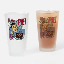 I Like Pie! Retro Diner Drinking Glass
