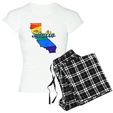 Rialto, California. Gay Pride Pajamas