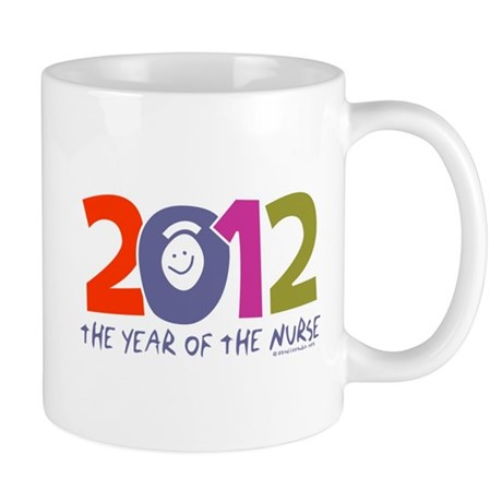 2012 - Year of the Nurse Mug