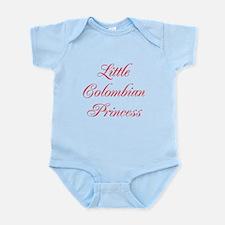 Little Colombian Princess Infant Bodysuit