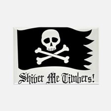 Shiver Me Timbers! Rectangle Magnet