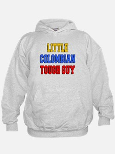 Little Colombian Tough Guy Hoodie