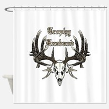 Trophy husband 1 Shower Curtain