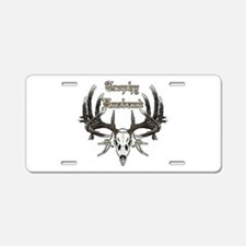 Trophy husband 1 Aluminum License Plate