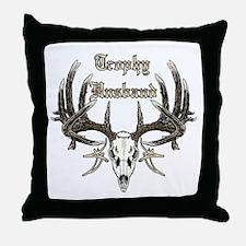 Trophy husband 1 Throw Pillow